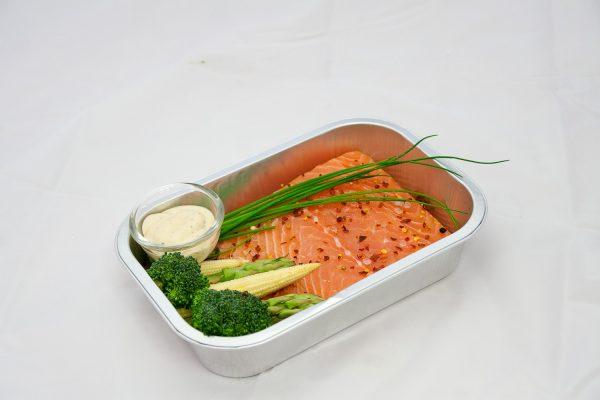 Marinated Salmon 2