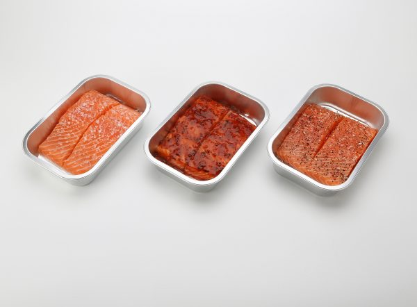 Salmon and Trout on plastic or foil tray 250g/300g/400g/500g