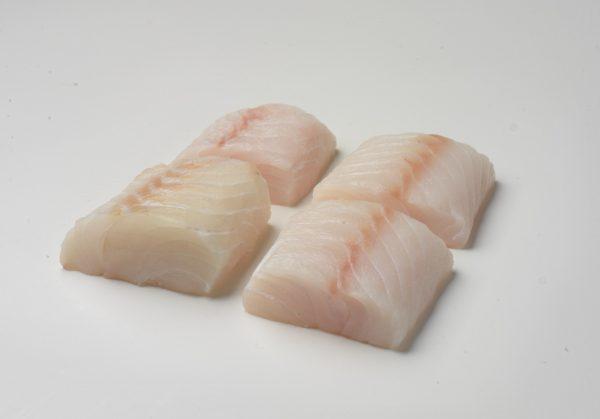 Cod loins portion